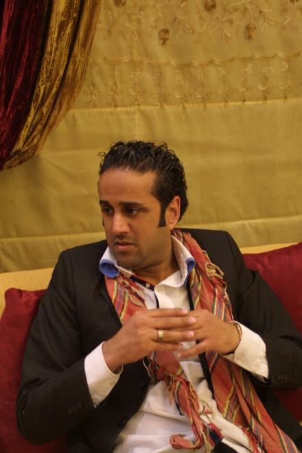 Human rights activist Sayed Yussef  Anmuhafada. Photo (c) Reese Erlich 2013