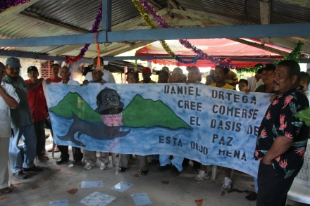 Ometepe Protestors